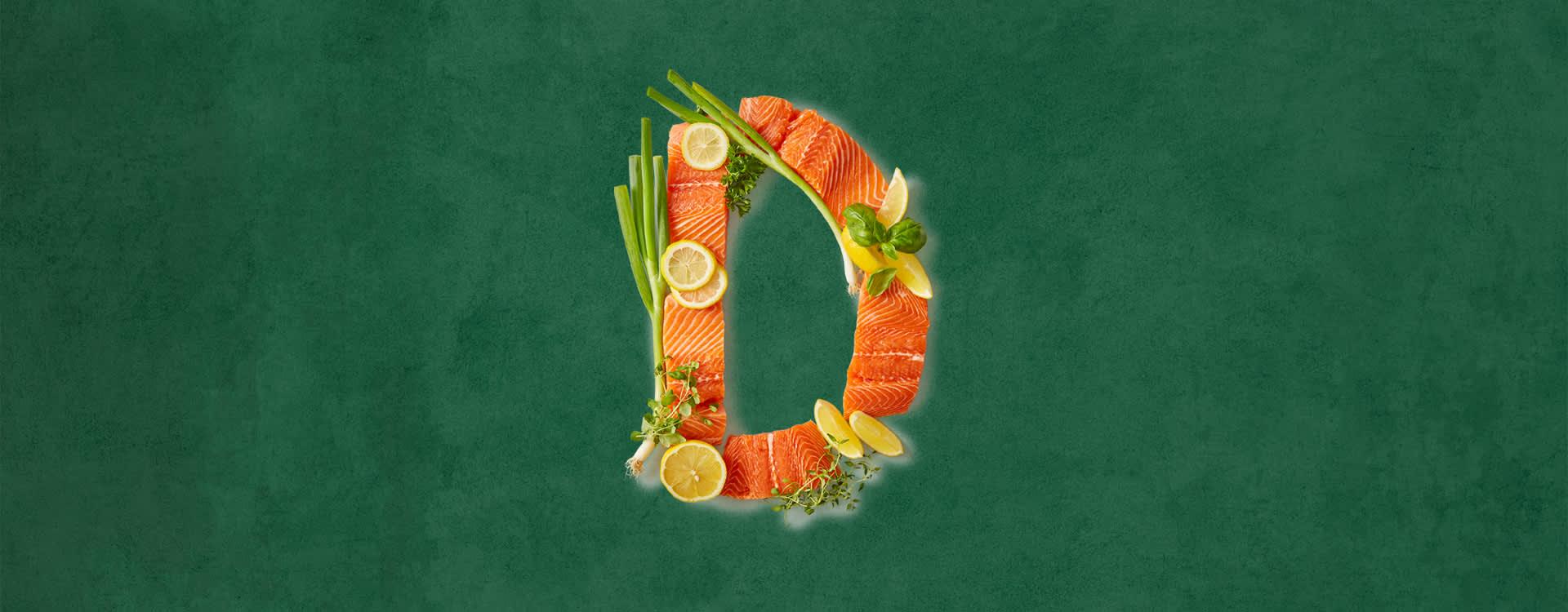 D-vitamin får vi naturlig i alt for lite av. Derfor er det viktig at vi får i oss mengden vi trenger daglig gjennom maten vi spiser.