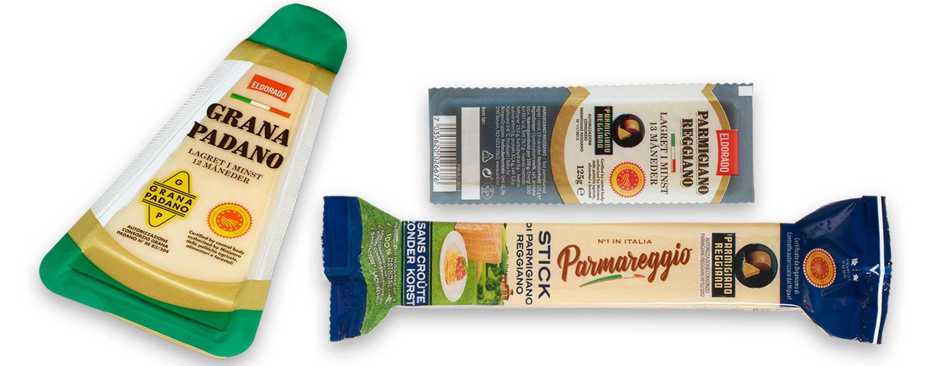 Parmesan er en veldig anvendelig ost, og fås i flere varianter hos KIWI.