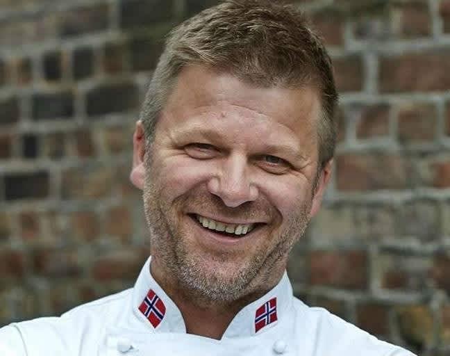 Kokk Espen Vesterdal Larsen. Foto: Kulinarisk Akademi