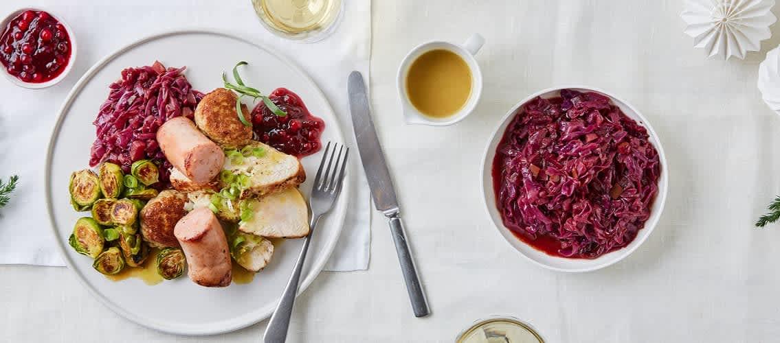 Legg til rosenkål på menyen eller gjør noe nytt med rødkålen, så økes mengden grønnsaker til julemiddagen