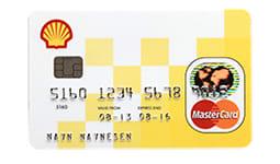 Shell MasterCard kort