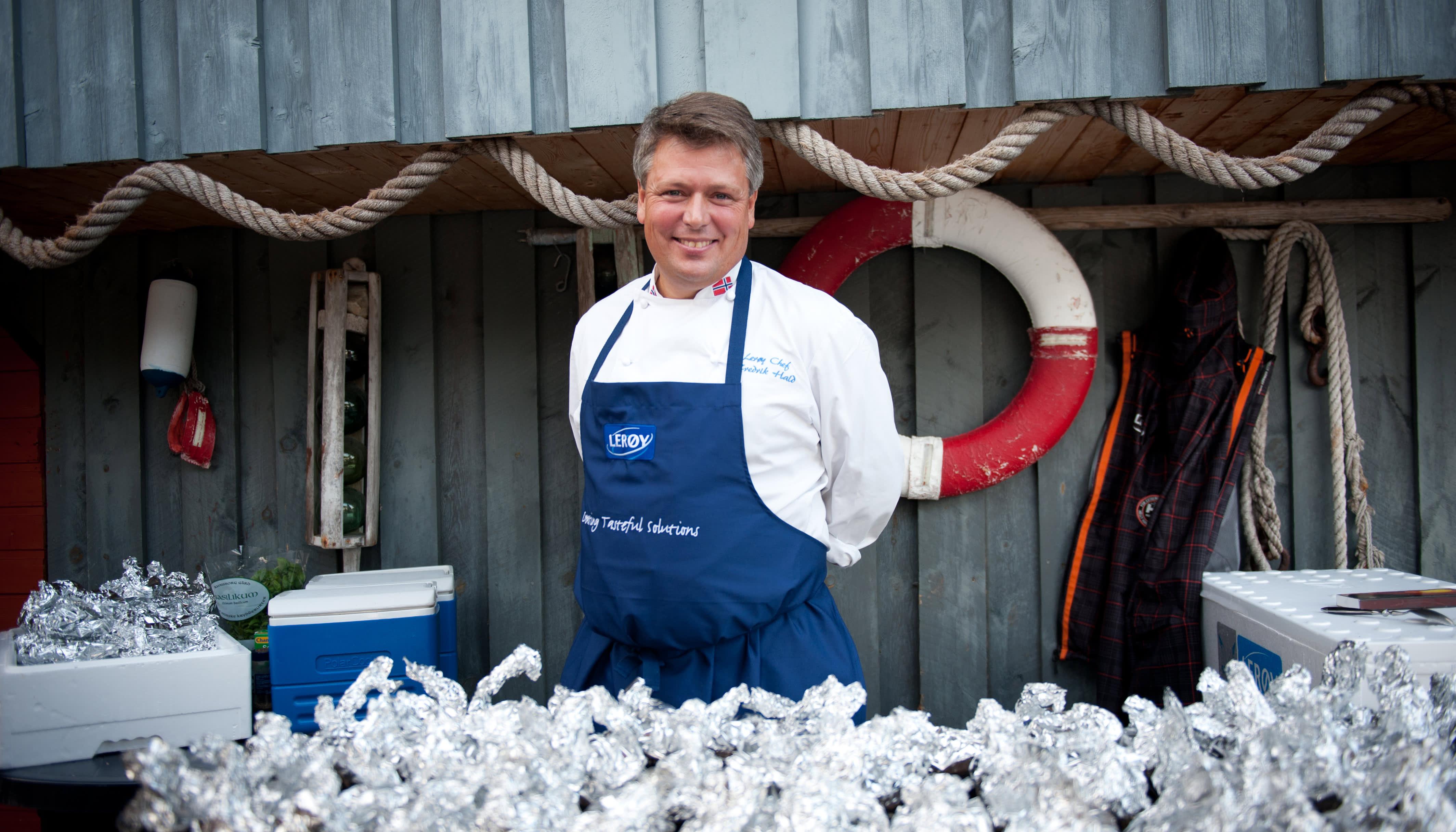 Lerøy-kokk Fredrik Hald tipser her om 22 forskjellige sauser og marinader du enkelt lager til laks eller torsk.