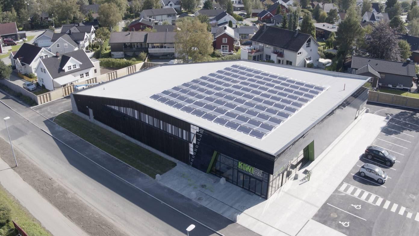 MILJØ: KIWI har åpnet nok en miljøbutikk, denne gangen i Trondheim.