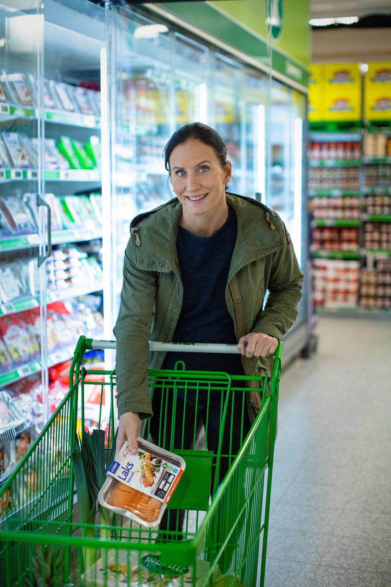 Marit Bjørgen spiser fortsatt fisk to-tre ganger i uken, selv om livet som toppidrettsutøver er lagt på hylla.