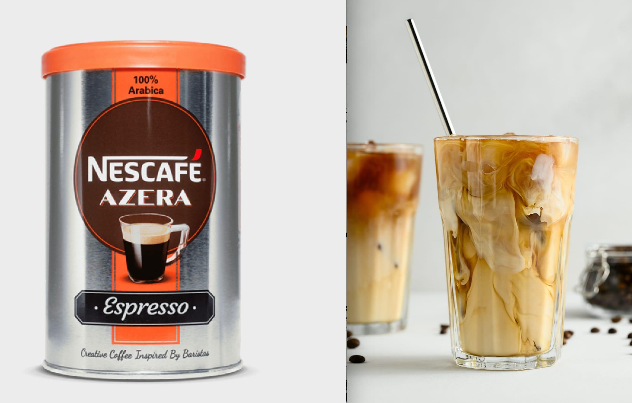 Grekerne er kjent for sin iskaffe - Freddo Espresso.