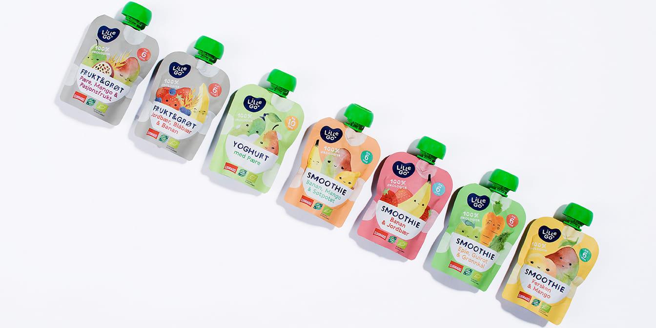 Smoothieposer er et populært og sunt mellommåltid til barn. Klarer de voksne å gjette smaken?