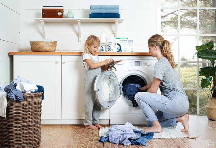 Det finnes flere hud- og allergivennlige vaskemidler å få kjøpt, Neutral er ett av dem.