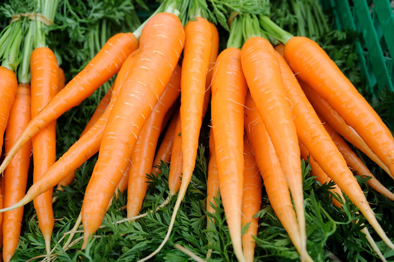 Vi nordmenn spiser stadig mer grønnsaker, og gulrot er den enkeltgrønnsaken vi spiser aller mest av.