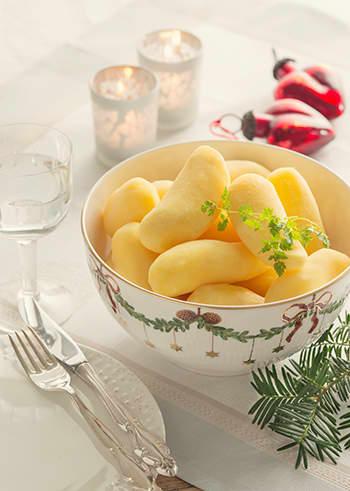 Julens ferdigskrelte mandelpotet.