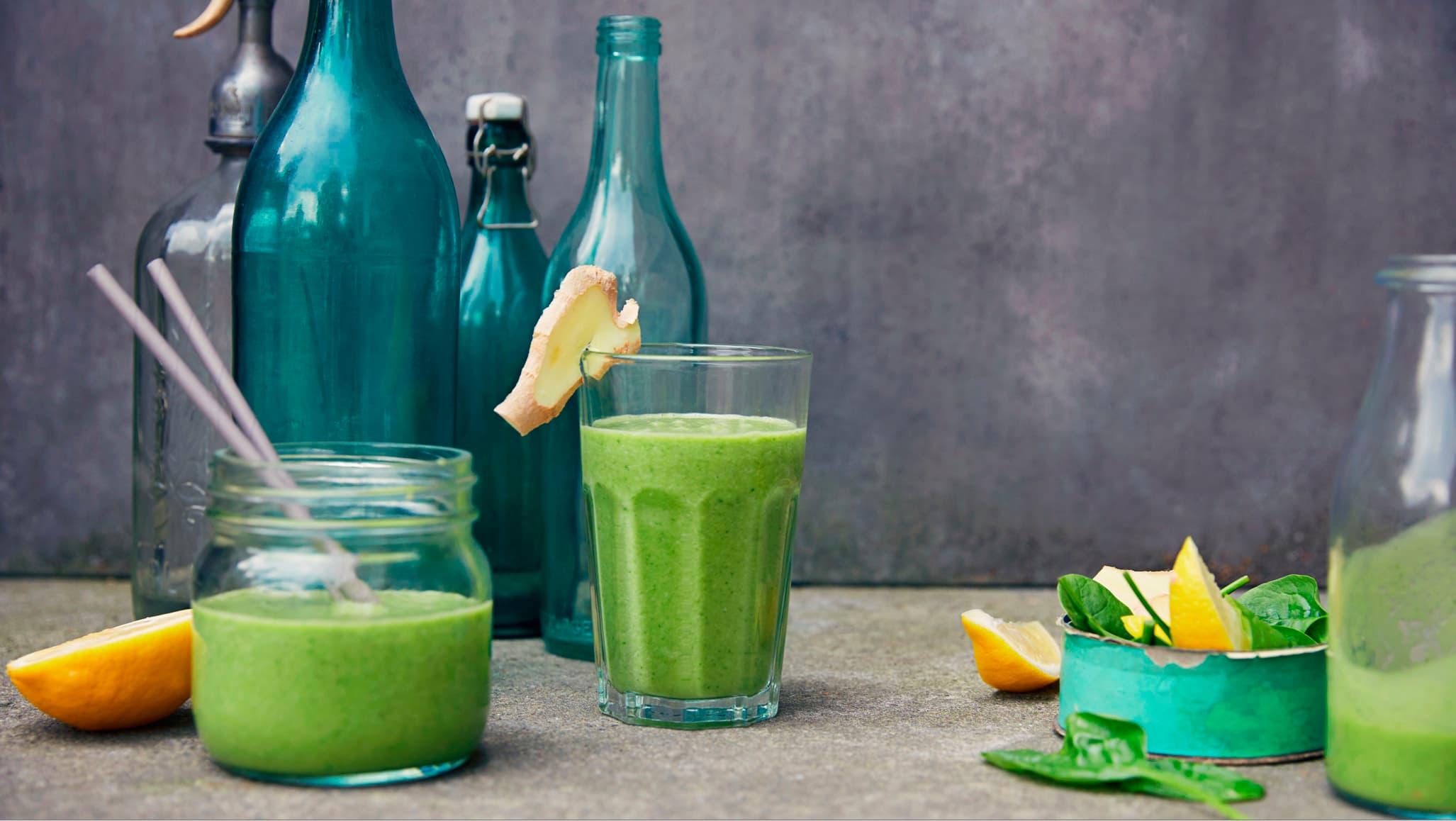 Har du prøvd smoothie med avokado og ingefær?