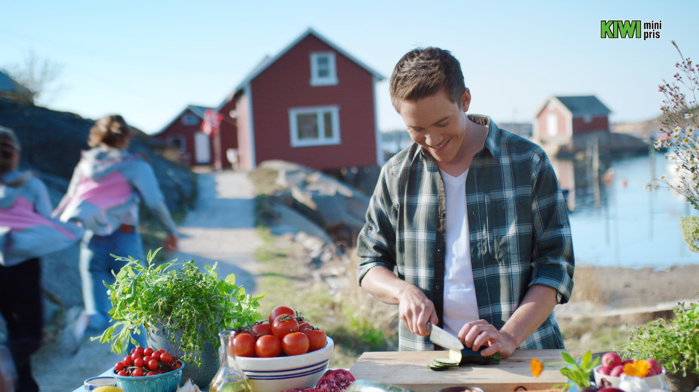 Christers grillede kyllingsalat.