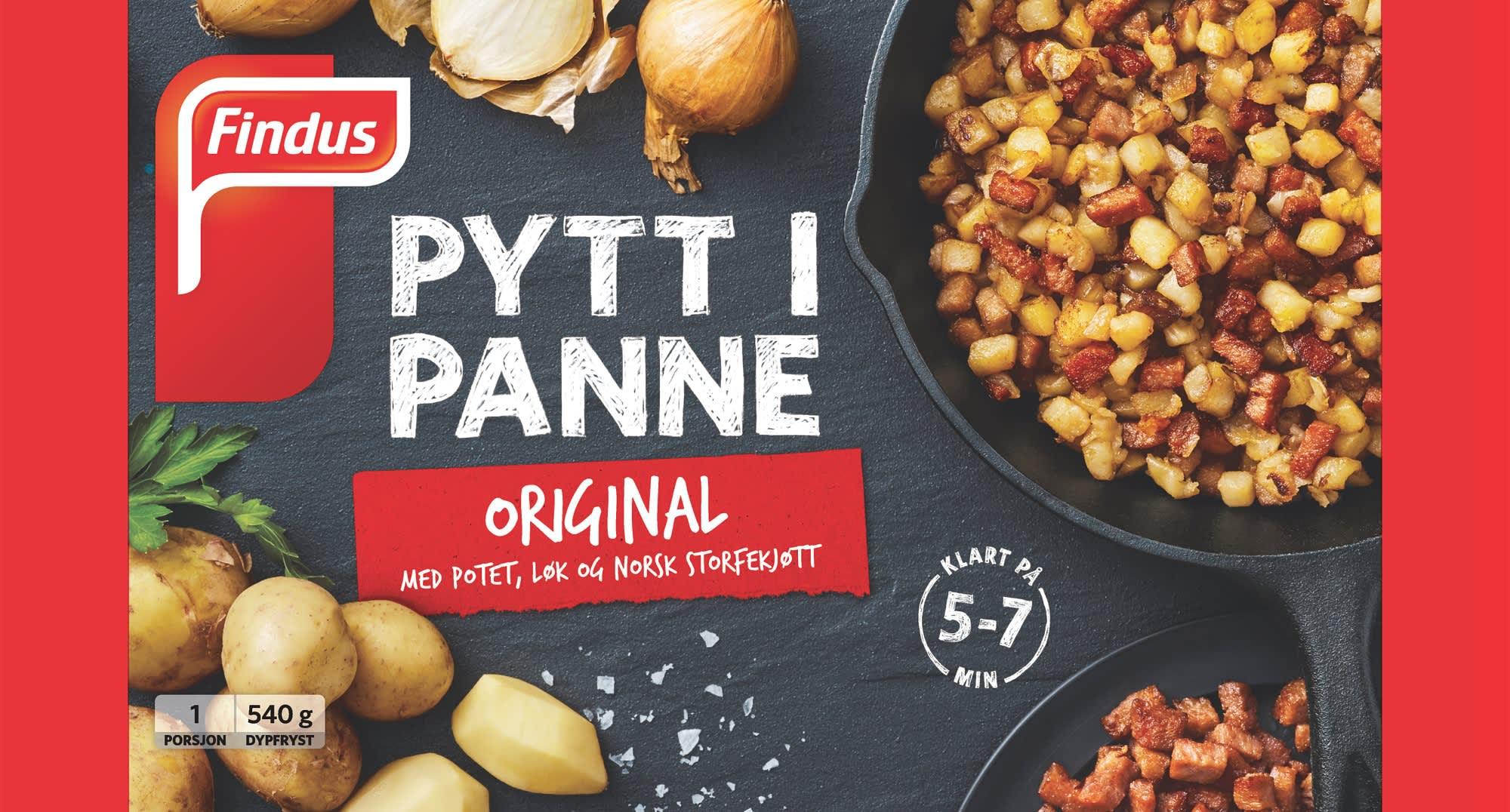 ytt i Panne original passer alene, men fungerer også utmerket som en base for å blande inn det du måtte ha av rester av kjøtt, egg urter eller grønnsaker.