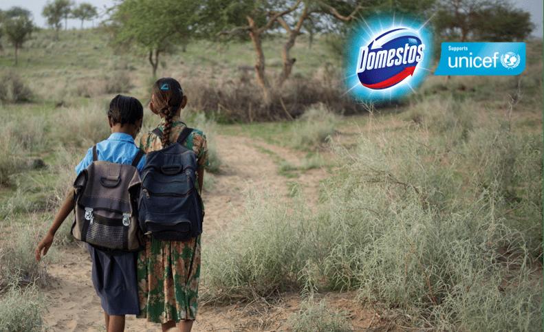 Domestos har vært partner med UNICEF siden 2012.