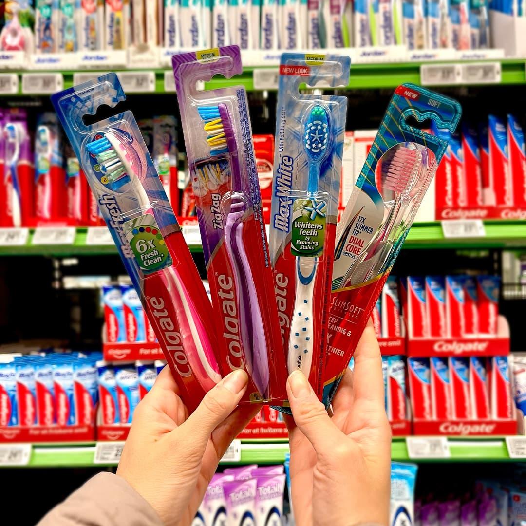 Husk tannbørstebyttedagen den 14. februar.