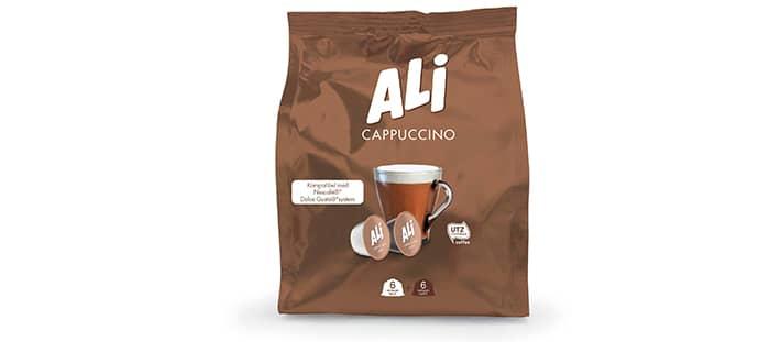 Ali cappuccino: Ali kaffe kan nå også kurere gruff med sin nye Ali cappuccino.