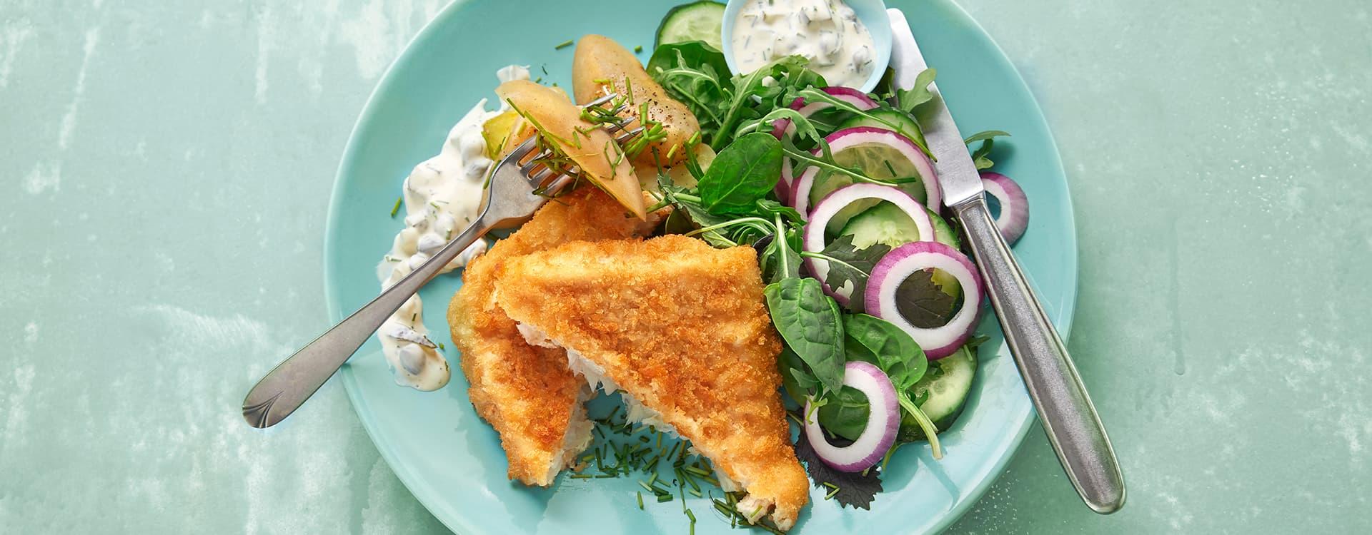 Sprø torsk er en favoritt blant mange barn.