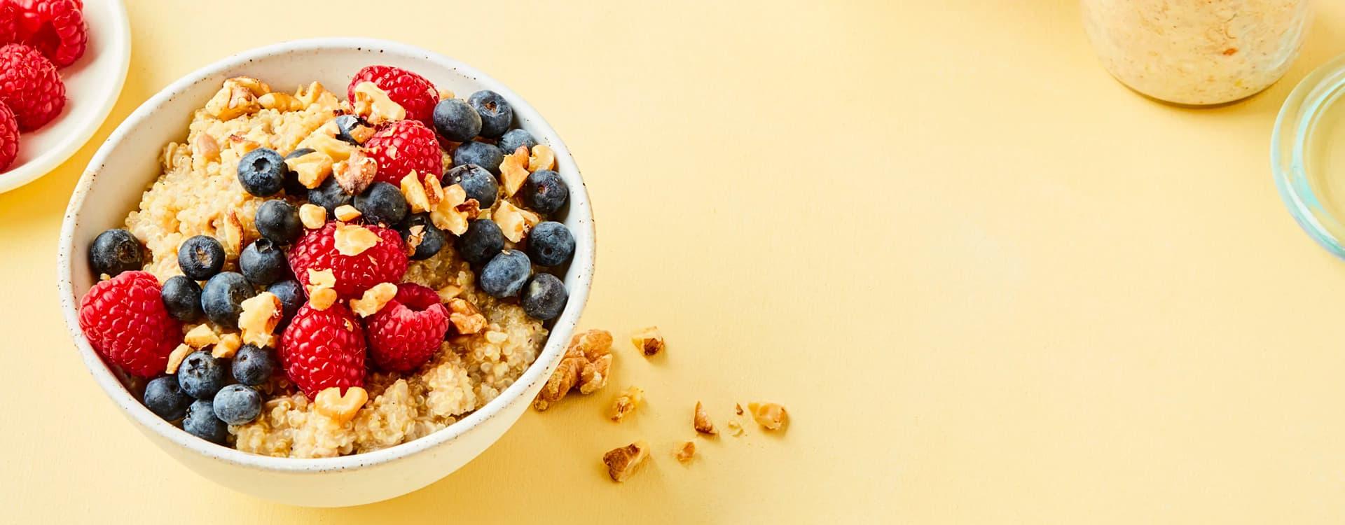 En skikkelig sunn og god frokost som gir deg en kickstart på dagen.