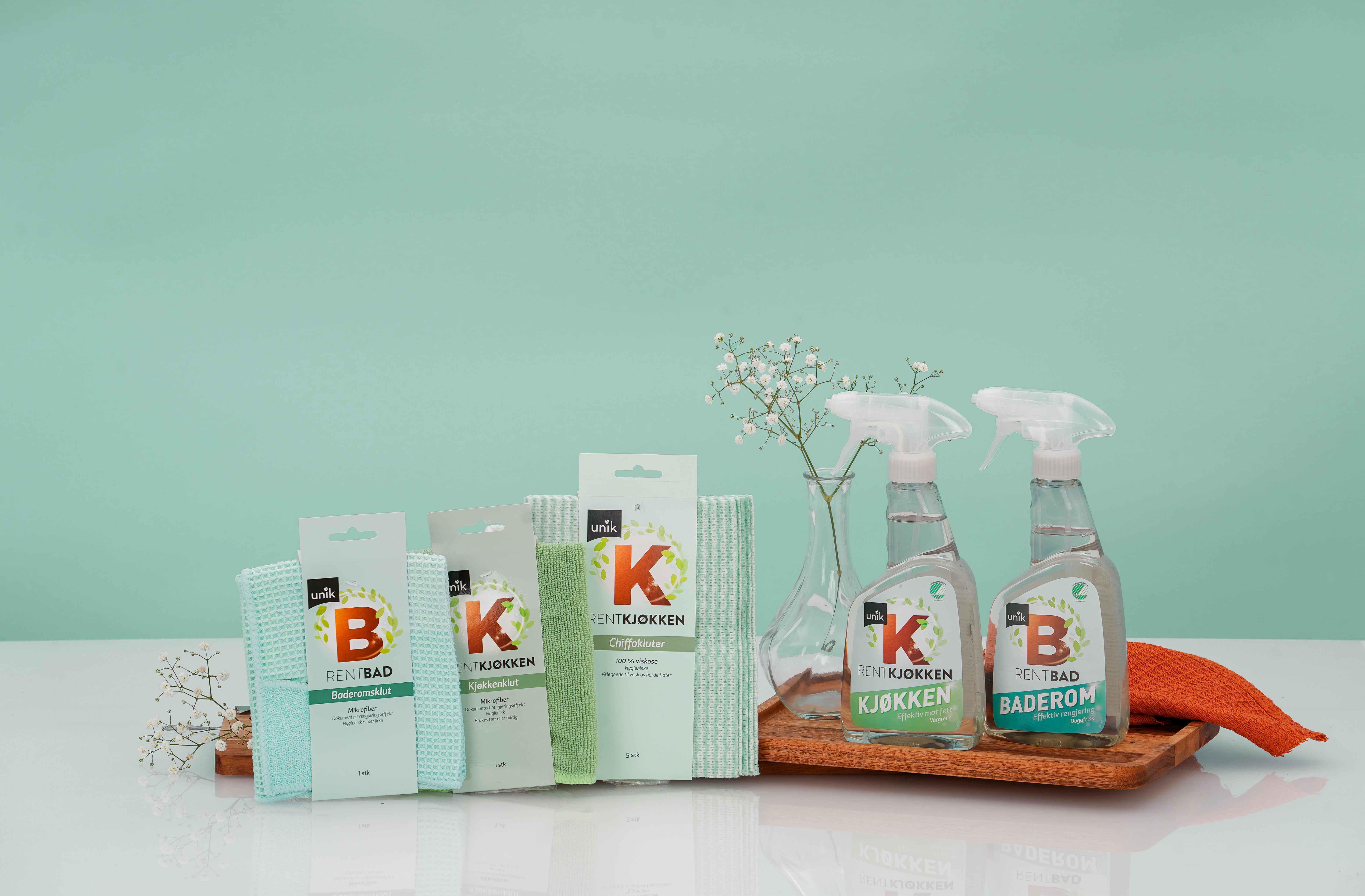 RentHjem-produktene er både blant de billigste og mer miljøvennlige vaskeproduktene du får kjøpt hos KIWI.
