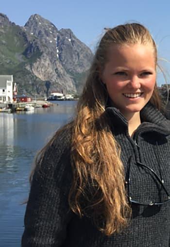 Julie Marie Kinneberg fra Bærum vant tur til Lofoten.