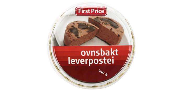 Smakspanelet lot seg imponere av leverposteien fra First Price.