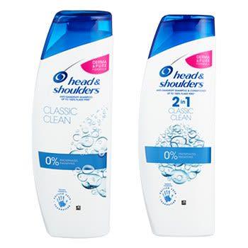 Head & Shoulders Shampoo og 2 in 1 får du i alle KIWI-butikker.