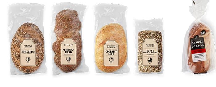 Prøv et av Bakerens Utvalgte brød til jul i år. Eller hva med Nystekt julebrød på bare 8 minutter?