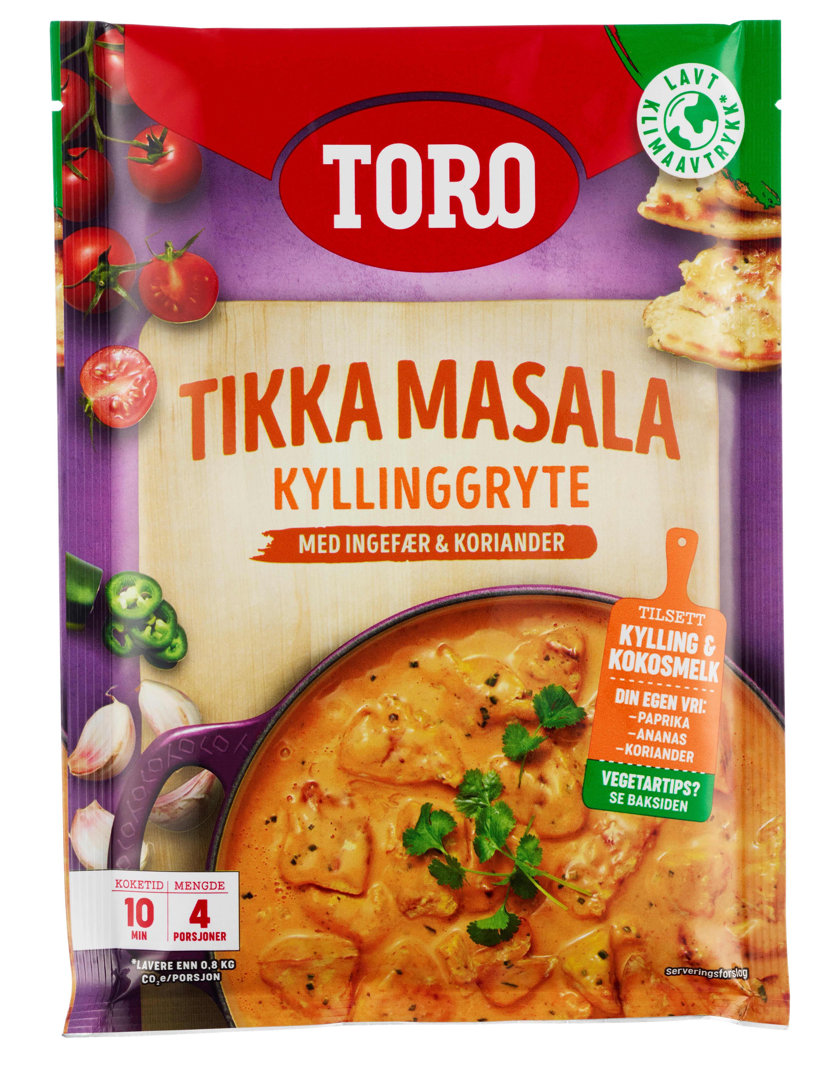 TORO Tikka masala kyllinggryte