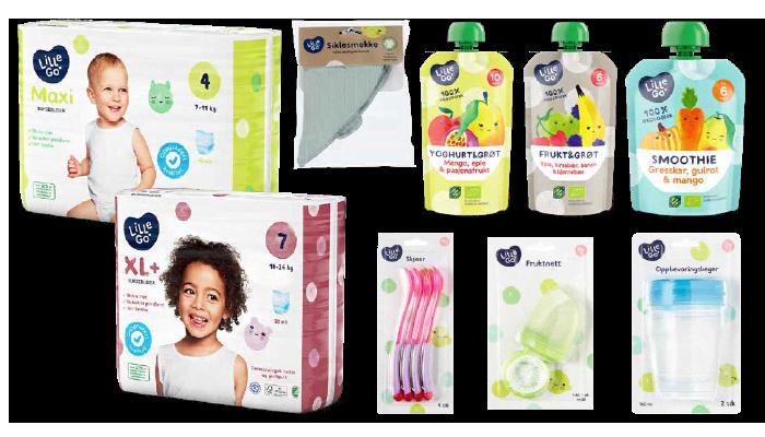 Lillego' kommer med flere nyheter til barnefamiliene i alle KIWI-butikker.