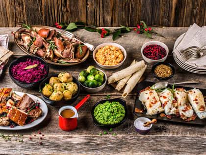 Porsjonsberegning av julemat