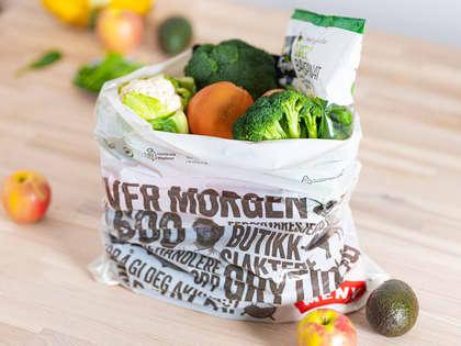To grønne nyheter om bæreposen