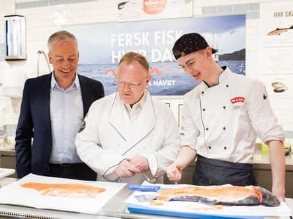 Fiskeriministeren roser MENYs fiskesatsing