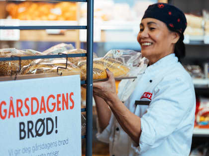 Verdens Miljødag 5. juni: Tonnevis av mat reddet