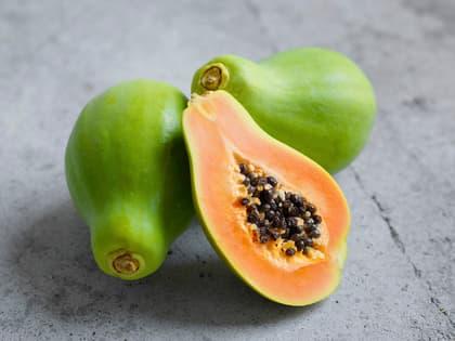 Papaya på 4 måter