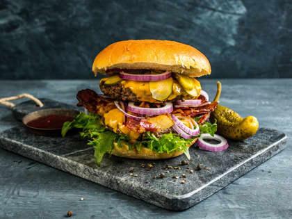 De beste ostene til hamburgeren