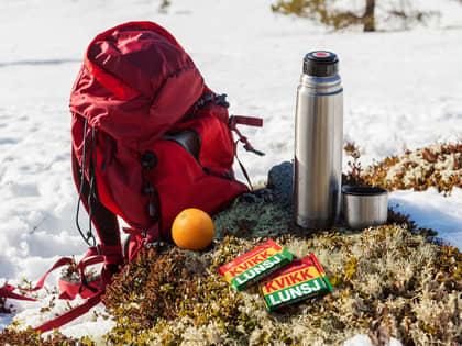 Kvikk Lunsj - hele Norges tursjokolade