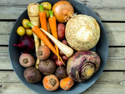 Slik tilbereder du rotgrønnsakene