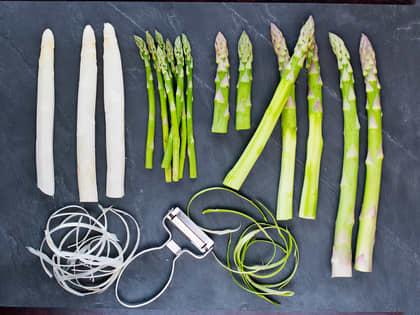 Slik tilbereder du asparges