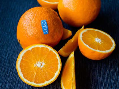 Bare de beste appelsinene blir merket Cevita