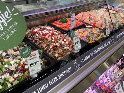 Mer lokalmat, vegetar og overskuddsmat i 2019