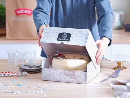 Bestill kake i nettbutikken og få den levert hjem