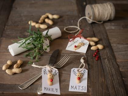 Slik lager du julekort, bordkort og pakkelapper til jul