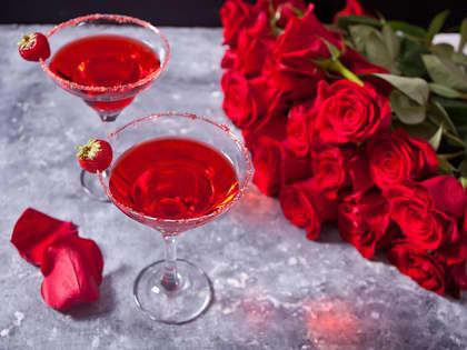 Den perfekte Valentine daten lager du hjemme
