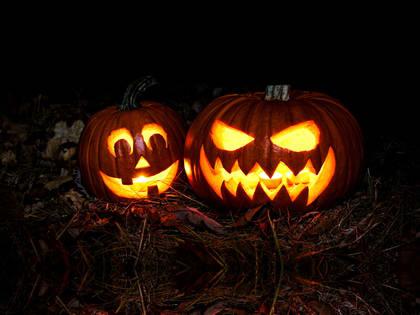 Slik lager du gresskarlykt til Halloween