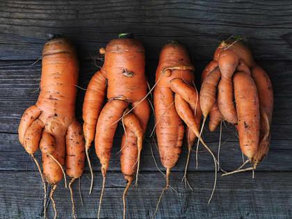 Kaster ikke stygge grønnsaker