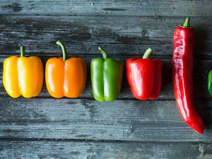 Paprika på 4 måter