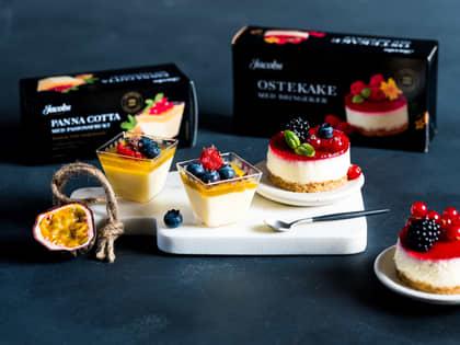Fristende desserter fra Jacobs Utvalgte