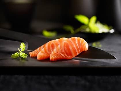 Frøyalaks med sashimikvalitet