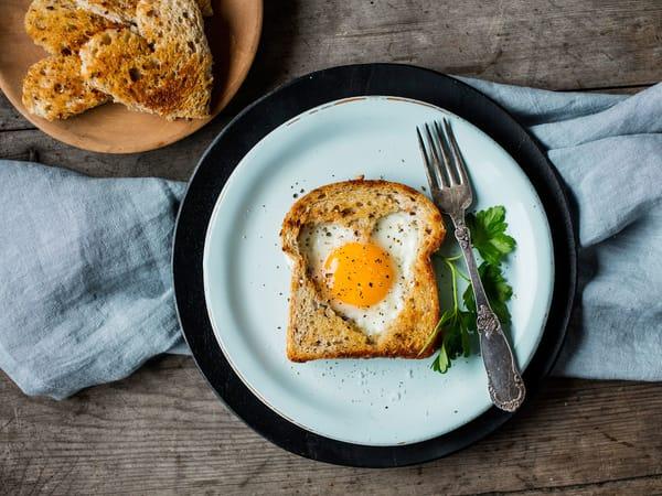kveldsmat med egg