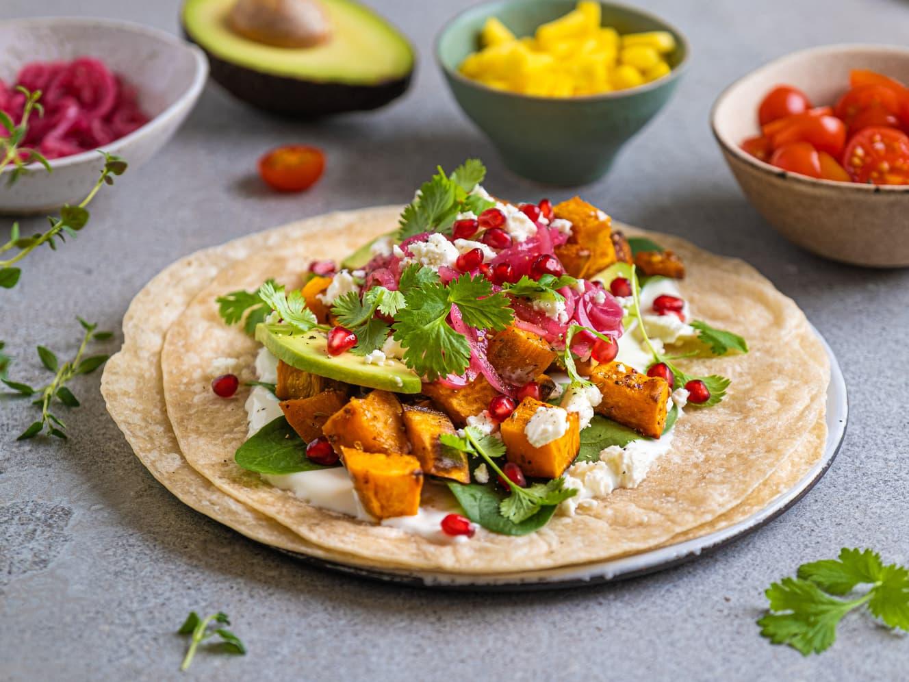 Kjøttfri taco?