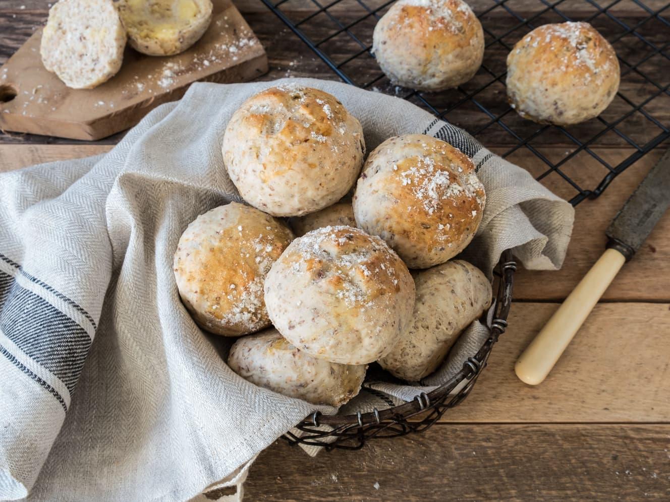 Flere brødoppskrifter